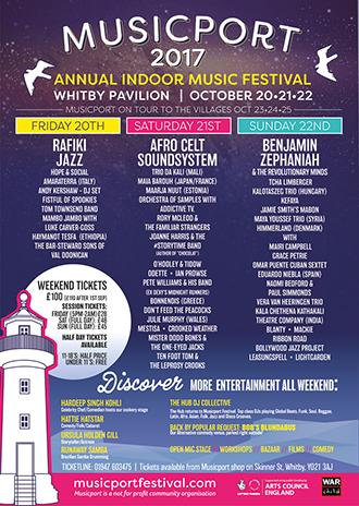 Musicport Festival 2017 poster